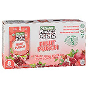 Smart Kids Organic Fruit Punch Juice Beverage 6 oz Pouches