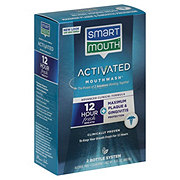Smart Mouth Advanced Clinical Formula 12 Hour Fresh Breath Fresh Mint Activated Mouthwash