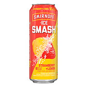 Smirnoff Ice Smash Strawberry Lemon