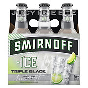 Smirnoff Ice Triple Black 6 PK Bottles