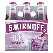 Smirnoff Ice Wild Grape 6 PK Bottles