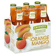 Smirnoff Sourced Orange Mango 11.2 oz Bottles