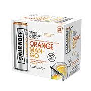 Smirnoff Spiked Sparkling Seltzer Orange Mango 6 Pack ‑ Shop