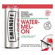 Smirnoff Spiked Sparkling Seltzer Watermelon 6 Pack