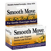 Smooth Move Senna Stimulant Laxative Capsules