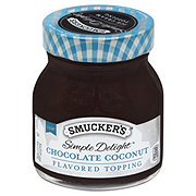 Smucker's Simple Delight Chocolate Coconut Flavored Topping