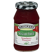 Smucker's Sugar Free Truvia Strawberry Preserves