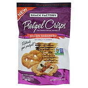 Snack Factory Bacon Habanero Pretzel Crisps