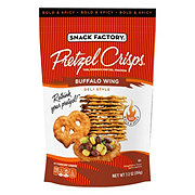 Snack Factory Buffalo Wing Deli Style Pretzel Crisps