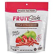 Snack Factory Fruit Sticks Apple Strawberry