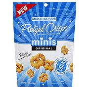 Snack Factory Original Minis Pretzel Crisps