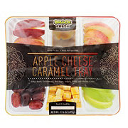Snack Fresh Apple Cheese Caramel Tray