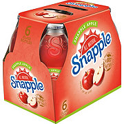 Snapple Apple Juice 16 oz Bottles