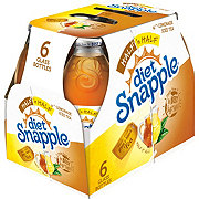 Snapple Diet Half 'n Half Lemonade Ice Tea 16 oz Bottles