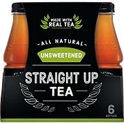 Snapple Unsweetened Straight Up Tea 18.5 oz Bottles