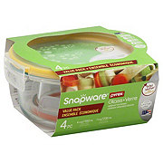 Snapware Total Solution GlassRound Value Pack