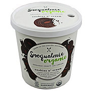 Snoqualmie Organic Cookies N Cream Ice Cream