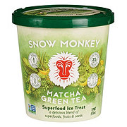 Snow Monkey Matcha Green Tea Superfood Ice Treat