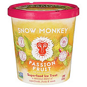 Snow Monkey Passion Fruit Superfood Vegan Ice Treat