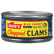 Snow's Chopped Clams in Clam Juice