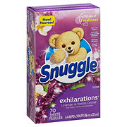 Snuggle Exhilarations Lavender & Vanilla Orchid Fabric Softener Dryer Sheets