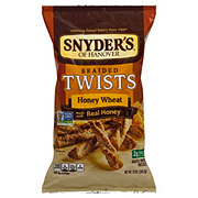 Snyder's of Hanover Braided Twists Honey Wheat Pretzels