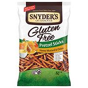 Snyder's of Hanover Gluten Free Honey Mustard & Onion Pretzel Sticks