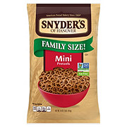 Snyder's of Hanover Mini Pretzels Family Size