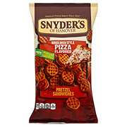 Snyder's of Hanover Pizza Filled Pretzel Sandwiches