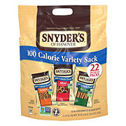 Snyder's of Hanover Pretzels 100 Calorie Variety Pack