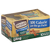 Snyder's of Hanover Stick Pretzels 100 Calorie On-The-Go Packs