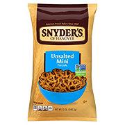Snyder's of Hanover Unsalted Mini Pretzels