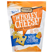 Snyder's of Hanover Wholey Cheese Mild Cheddar Crackers