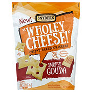 Snyder's of Hanover Wholey Cheese Smoked Gouda Crackers