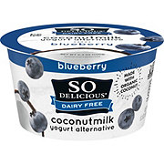 So Delicious Coconut Milk Vegan Blueberry Yogurt Alternative
