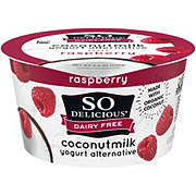 So Delicious Coconut Milk Vegan Raspberry Yogurt Alternative