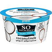 So Delicious Coconut Milk Vegan Yogurt Alternative Plain