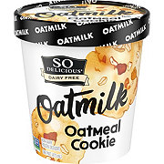 So Delicious Dairy-Free Oatmilk Oatmeal Cookie Non-Dairy Frozen Dessert