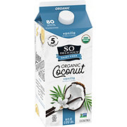 So Delicious Dairy Free Organic Vanilla Coconut Milk Beverage