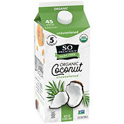 So Delicious Dairy Free Unsweetened Coconut Milk Beverage