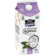 So Delicious Dairy Free Unsweetened Vanilla Coconut Milk Beverage
