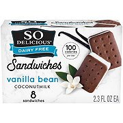 So Delicious Minis Coconut Milk Vanilla Mini Vegan Sandwiches