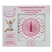So 'Dorable Girls 12 Monthly Milestone Stickers