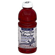 SoBe Lifewater Nutrient Enhanced Black and Blue Berry Hydration Beverage