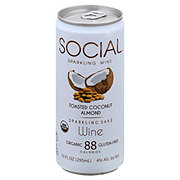Social Toasted Coconut Almond Sake Wine