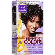 Soft Sheen-Carson Dark and Lovely Reviving Colors Ebone Brown 392 Semi-Permanent Haircolor
