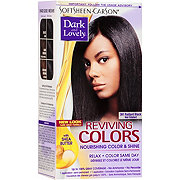 Soft Sheen-Carson Dark and Lovely Reviving Colors Radiant Black 391 Semi-Permanent Haircolor