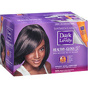 SoftSheen-Carson Dark and Lovely Healthy-Gloss 5 Shea Moisture No-Lye Relaxer, Super