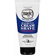 SoftSheen-Carson Magic Razorless Cream Shave, Regular Strength for Normal Beards