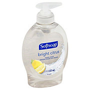 Softsoap Bright Citrus Liquid Hand Soap Pump